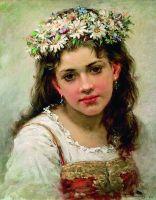 Головка девочки. 1889
