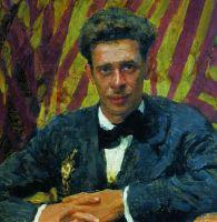 Портрет Николая Ремизова. 1917