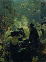 Садко в подводном царстве. 1875