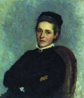 Портрет Юлии Богдановны Репман, рожденной Краузе, жены доктора А.Х.Репмана. 1881