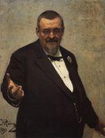 Портрет юриста В.Д.Спасовича. 1891