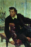 Портрет артиста П.В.Самойлова. 1915