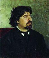 Портрет художника В.И.Сурикова. 1875