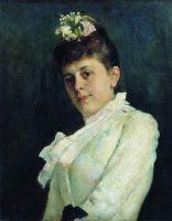 Женский портрет. 1887