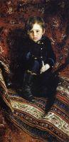 Портрет Ю.И.Репина, сына художника, в детстве. 1882
