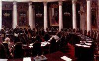 В зале Государственного совета