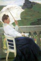 Портрет писательницы Н.Б.Нордман-Северовой. 1905