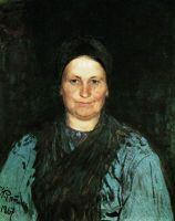 Портрет матери художника Т.С.Репиной. 1867
