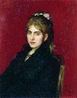 Портрет жительницы Чугуева С.Л.Любицкой. 1877