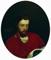 Портрет художника Ивана Степановича Панова. 1867