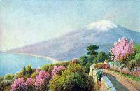 Этна. Сицилия. Открытка
