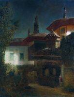 Ночь в Бахчисарае. 1886 Холст, масло. 65 x 51 ГЦММК им.Глинки,М.