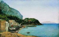 Остров Капри. Около 1900 Холст, масло. 40.1 x 64.2 ЧС