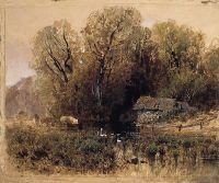 Заброшенная мельница. 1871-1873