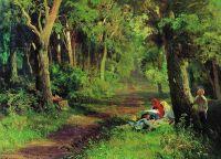 Дорога в лесу. 1867-1869