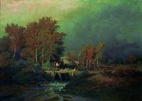 Перед дождем. 1870-1871