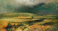 Волжские лагуны. 1870