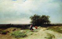 Возвращение стада. 1868