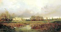 Болото осенью. 1871