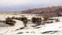 Ранний снег. 1883
