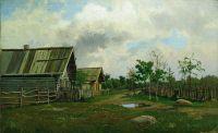 Деревенский пейзаж. 1870