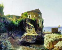 На острове Капри. Рыбацкий домик. 1859