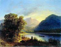 Горное озеро. 1852