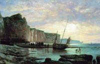 Нормандский берег. 1859
