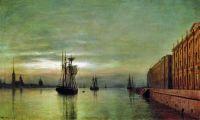 Нева ночью. 1878