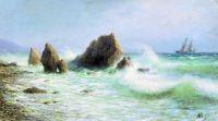 У берегов Ливадии. 1895