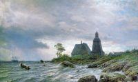 Северный пейзаж. 1872