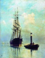 В Финском заливе. 1881