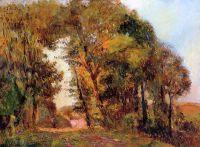 Лес возле Руана осенью