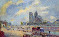 Нотр-Дам де Пари и Архиепископский мост