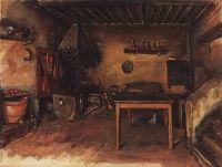 Деревнская кухня. В окрестностях Буджиано.