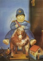 Педро на лошади