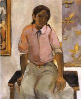 Портрет молодого индейца