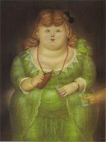 Женщина с попугаем