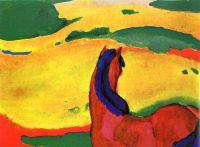 Лошадь и пейзаж