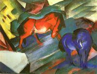 Красный и синийкони