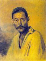 Голова киргиза