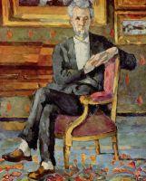 Портрет Виктора Чосквет сидя