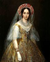 Портрет великой княгини Марии Александровны. Первая половина XIX века