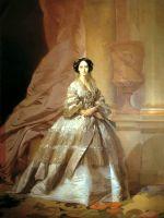 Портрет императрицы Марии Александровны, жены Александра II. 1866