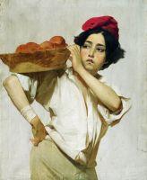 Итальянский разносчик. 1853–1855