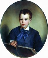 Портрет графа Петра Сергеевича Шереметева в детстве. 1880-е