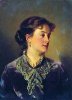 Женский портрет. 1860-е