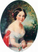Портрет Е.Г. Анненковой. 1840–1850-е