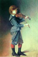 Мальчик со скрипкой. Около 1886