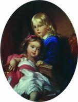 Портрет детей художника. 1885